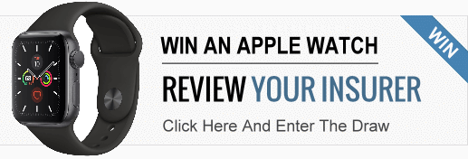 Review your insurer to win an Apple Watch